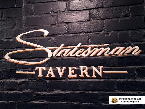 Man Fuel Food Blog - Statesman Tavern - Bristol, RI
