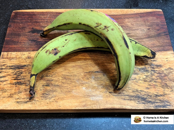 Home Is A Kitchen - Green Plantains