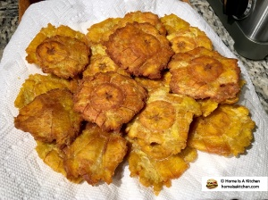 Home Is A Kitchen - Tostones Recipe