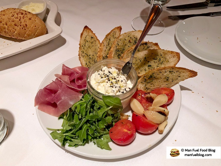 Man Fuel Food Blog - Flemings Providence - Burrata
