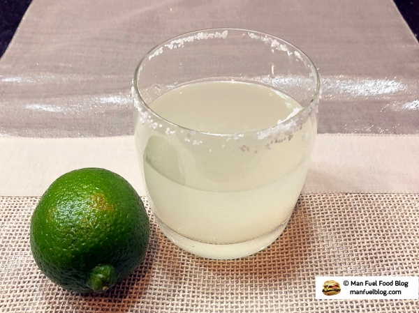 Man Fuel Food Blog - Margarita Recipe