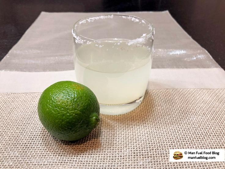 Man Fuel Food Blog - Simple Margarita Recipe