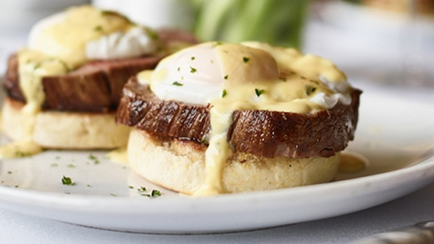 Flemings Surf and Turk Eggs Benedict