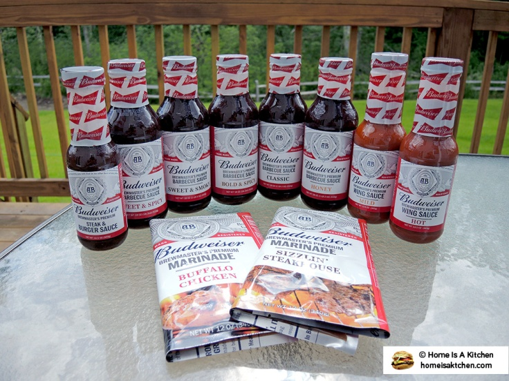 Home Is A Kitchen - Food Blog - Budweiser Barbecue Sauces