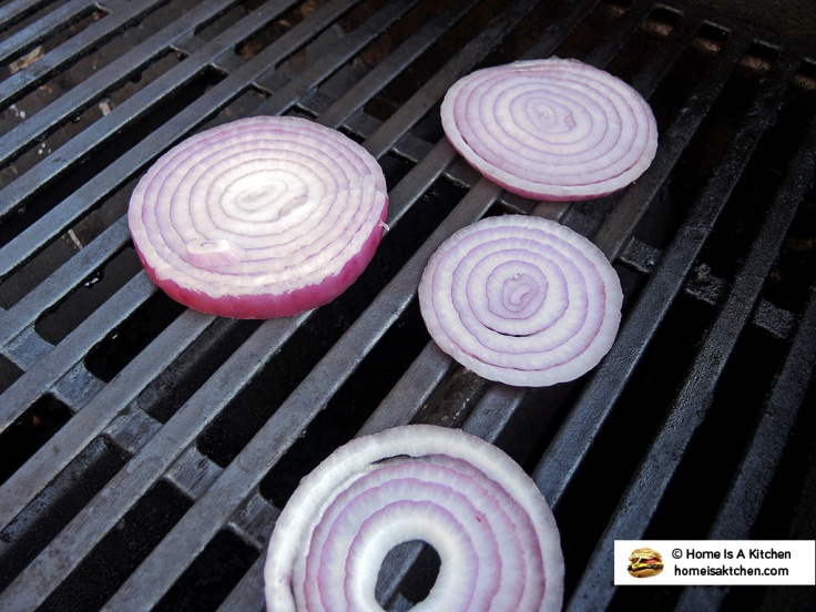 Home Is A Kitchen - Food Blog - Grilling Red Onions