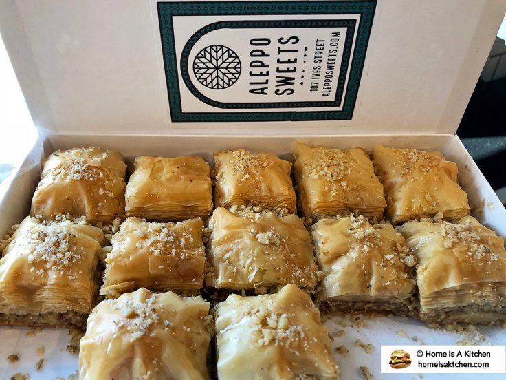 Home Is A Kitchen - Aleppo Sweets - Providence, RI - Baklava