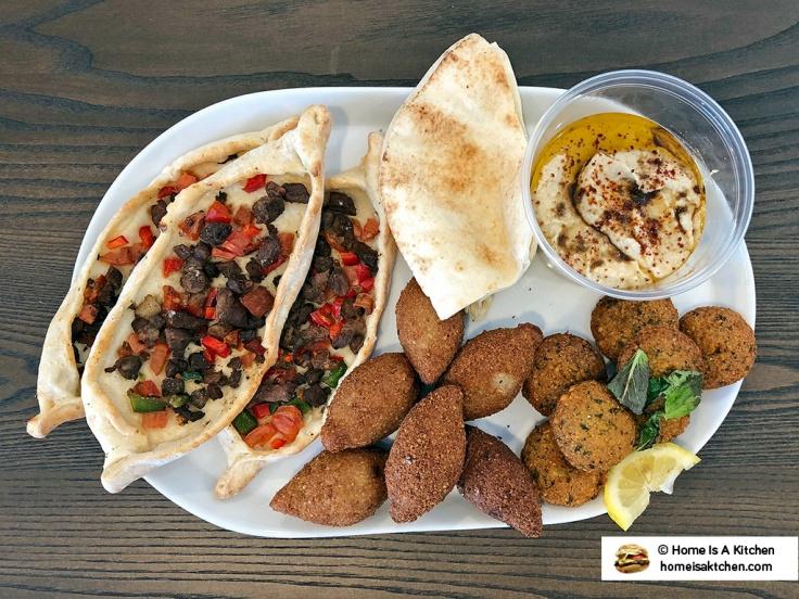 Home Is A Kitchen - Aleppo Sweets - Providence, RI - Falafel Kibbe Fattayer Hummus