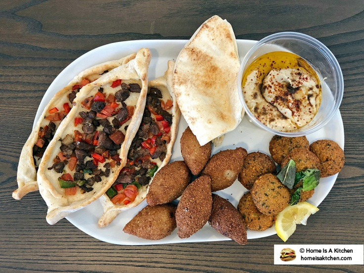 Home Is A Kitchen - Aleppo Sweets - Providence, RI - Falafel Kibbe Fattayer Hummus