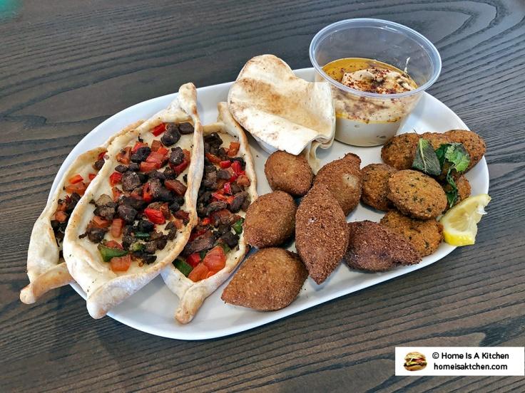 Home Is A Kitchen - Aleppo Sweets - Providence, RI - Hummus Falafel Kibbe Fattayer