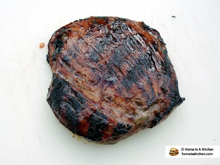 Home Is A Kitchen - Budweiser Steak Marinade Bag - Flank Steak Resting