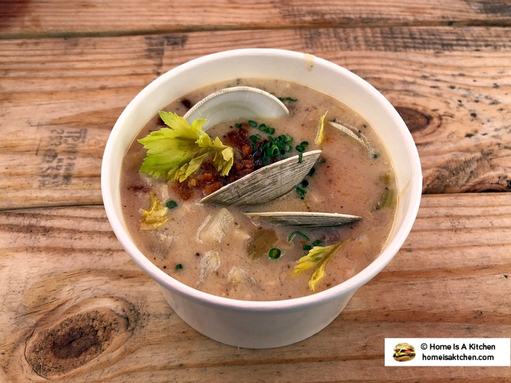 Home Is A Kitchen - Dune Brothers Seafood - Clam Chowder