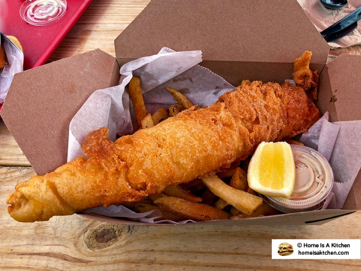 Home Is A Kitchen - Dune Brothers Seafood - Fish and Chips