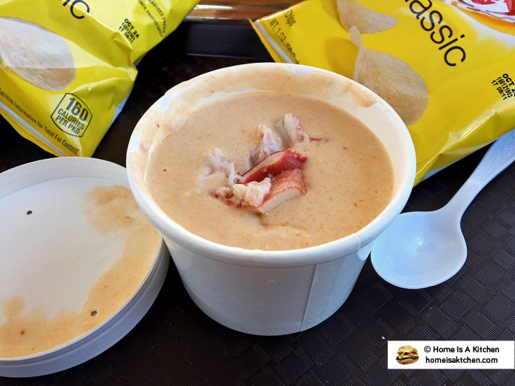 Home Is A Kitchen - Lobster Shack - Newport, RI - Lobster Bisque