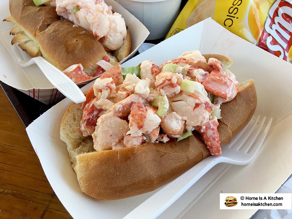 Home Is A Kitchen - Lobster Shack - Newport, RI - Lobster Roll
