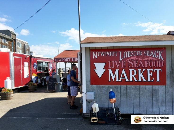 Home Is A Kitchen - Lobster Shack - Newport, RI