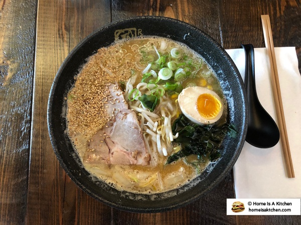 Home Is A Kitchen - Ganko Ittetsu Ramen - Providence, RI - Miso Ramen