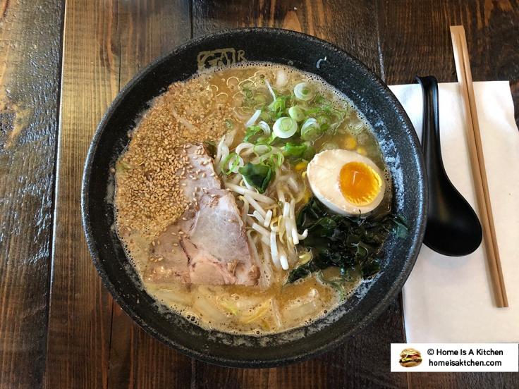 Home Is A Kitchen - Ganko Ittetsu Ramen - Providence, RI - Miso Ramen