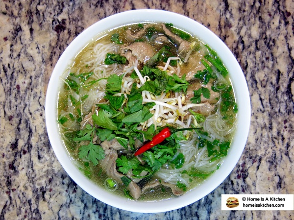 Home Is A Kitchen - Homemade Instant Pot Pho Recipe