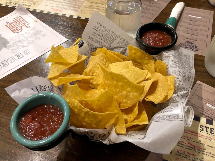 home is a kitchen - rebeco - seekonk, ma - chips and salsa