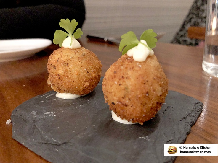 Home Is A Kitchen - Persimmon - Providence, RI - Truffle Croquettes
