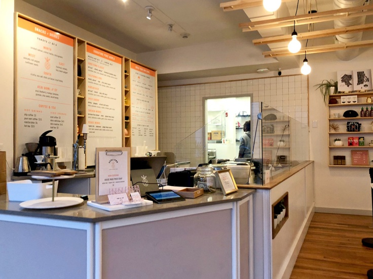 Home Is A Kitchen - Hometown Poke - Providence, RI - Interior