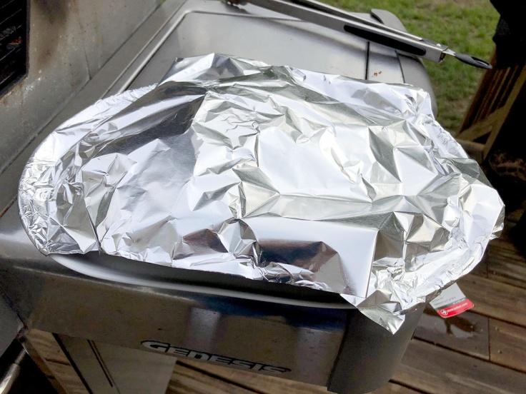 Home Is A Kitchen - Grilled Pork Tenderloin - Resting