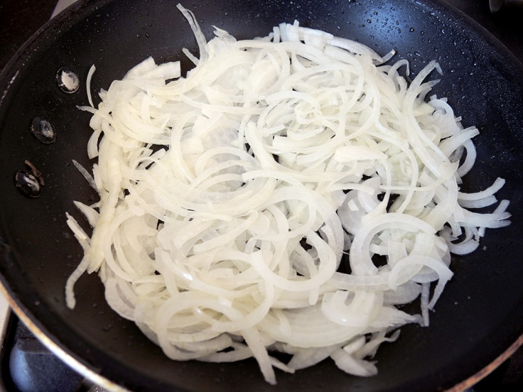 Home Is A Kitchen - Sauteeing Onions