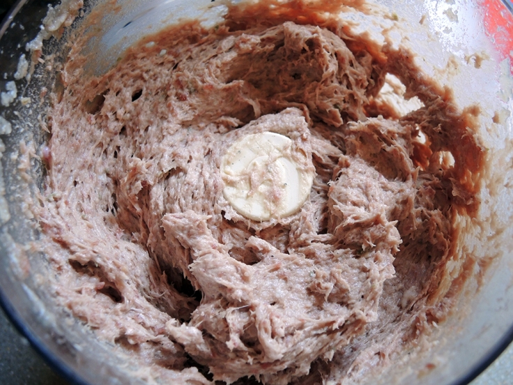 Man Fuel Food Blog - Ground Beef Food Processed for Gyros