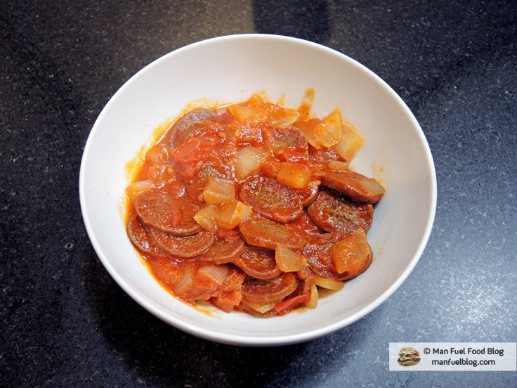 Home Is A Kitchen - Soujouk Recipe - Soujouk in a bowl