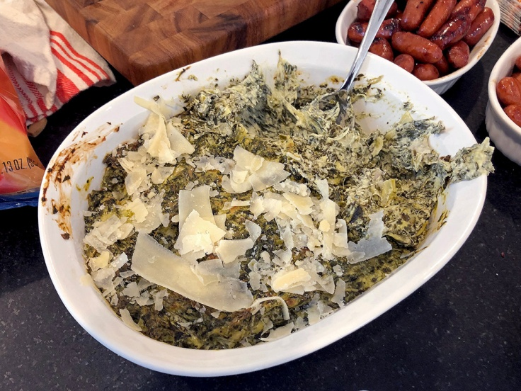 Home Is A Kitchen - Spinach and Artichoke Dip Recipe