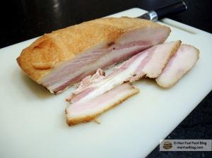 Home Is A Kitchen - Homemade Bacon Recipe - Sliced Bacon