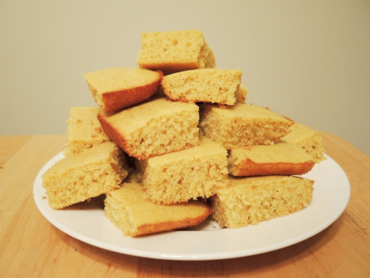 Man Fuel - Food Blog - Easy Buttermilk Cornbread Recipe