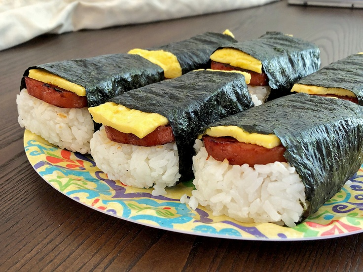 Home Is A Kitchen - SPAM Musubi Recipe - SPAM Musubi Completed