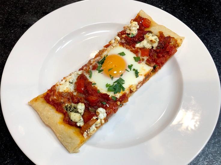 Home Is A Kitchen - Shakshuka Pizza - Strip