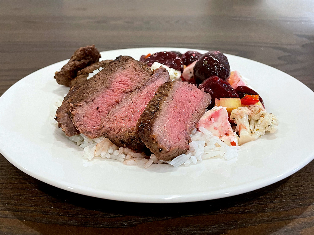 Home Is A Kitchen - Good Ranchers Review - Filet Dinner