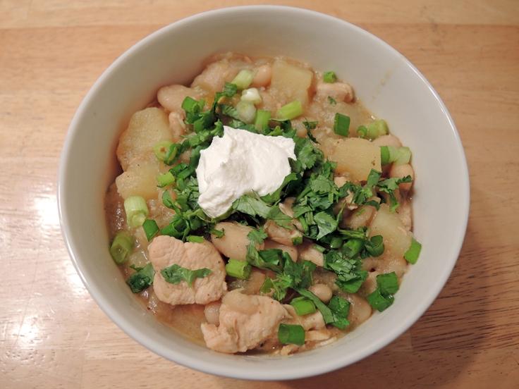 Man Fuel - Food Blog - White Bean Chicken Chili