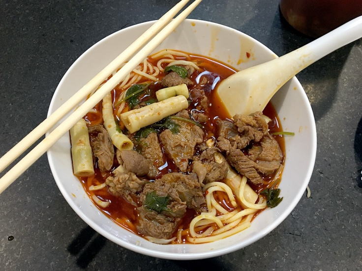 Home Is A Kitchen Food Blog - Chengdu Taste - Pawtucket, RI - Spicy Braised Beef Noodle Soup