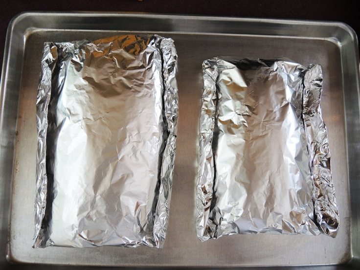 Home Is A Kitchen - Baby Back Ribs Sealed in Pouches for Baking
