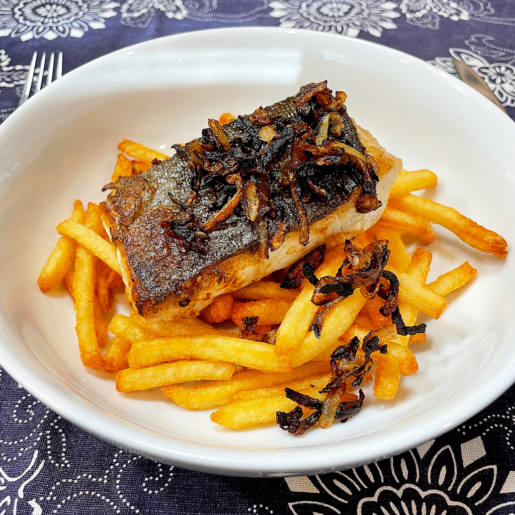 Home Is A Kitchen - Crowd Cow Review - Black Cod and Fries